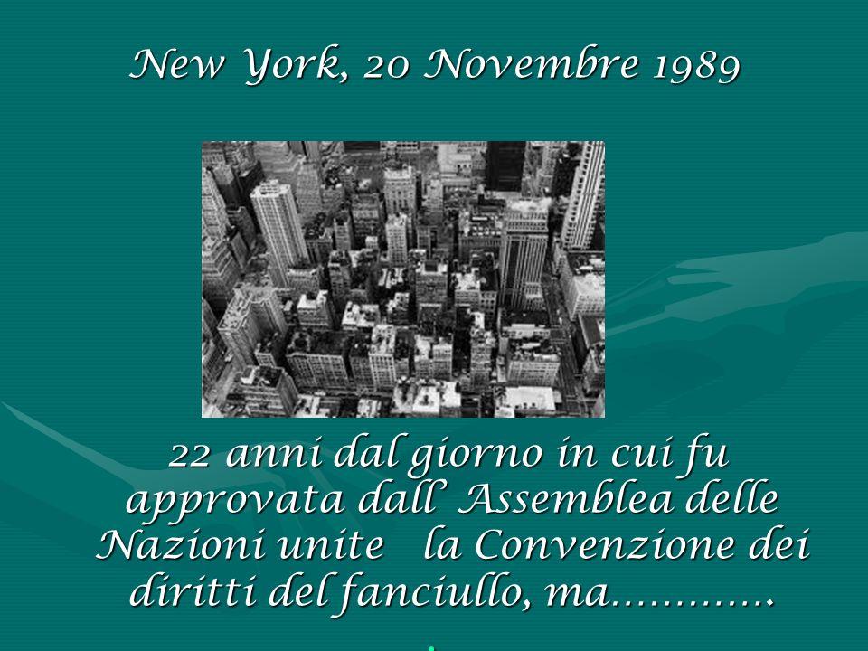 New York, 20 Novembre 1989