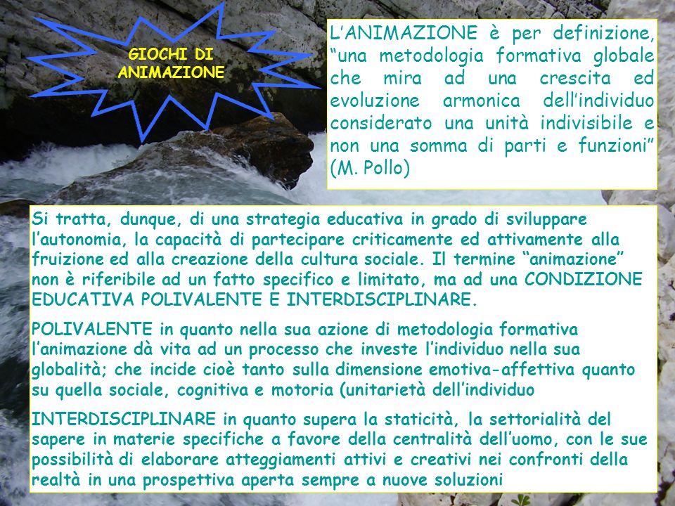 GIOCHI DI ANIMAZIONE.