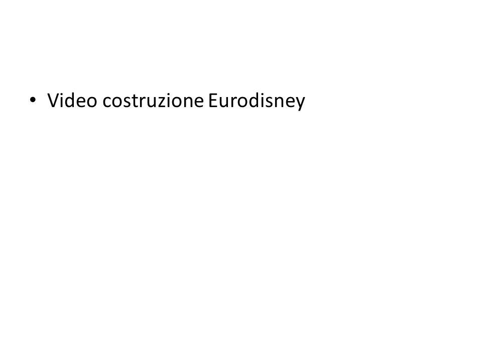 Video costruzione Eurodisney