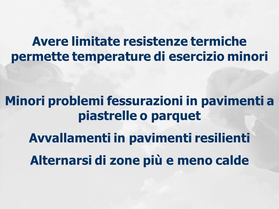 Minori problemi fessurazioni in pavimenti a piastrelle o parquet