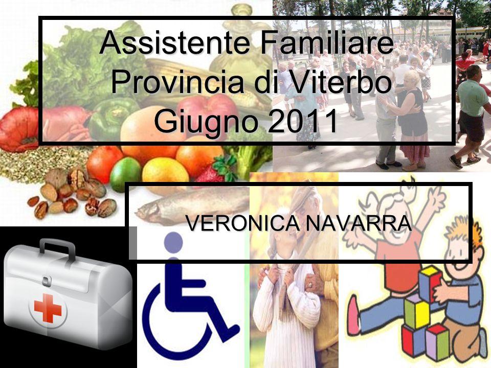 Assistente Familiare Provincia di Viterbo Giugno 2011