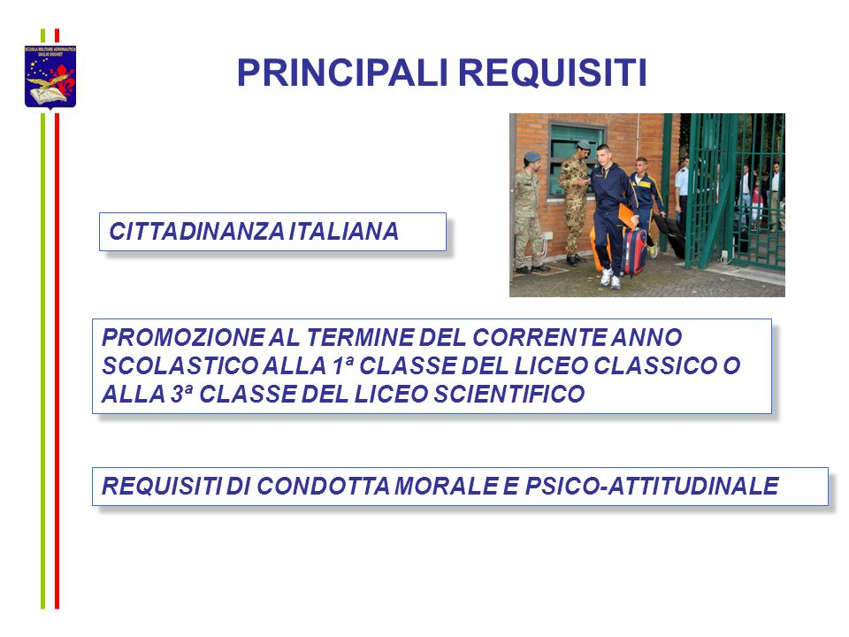 PRINCIPALI REQUISITI CITTADINANZA ITALIANA