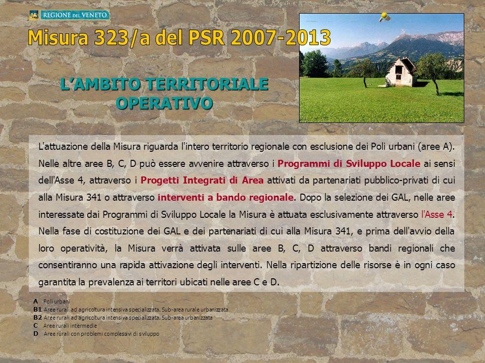 L'AMBITO TERRITORIALE OPERATIVO