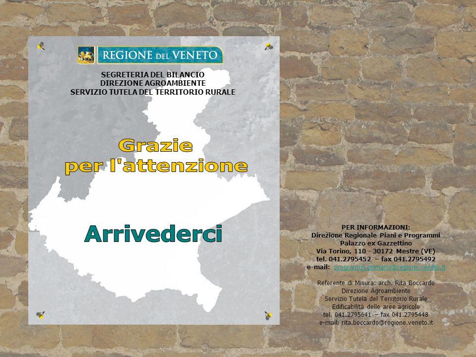 DIREZIONE AGROAMBIENTE SERVIZIO TUTELA DEL TERRITORIO RURALE