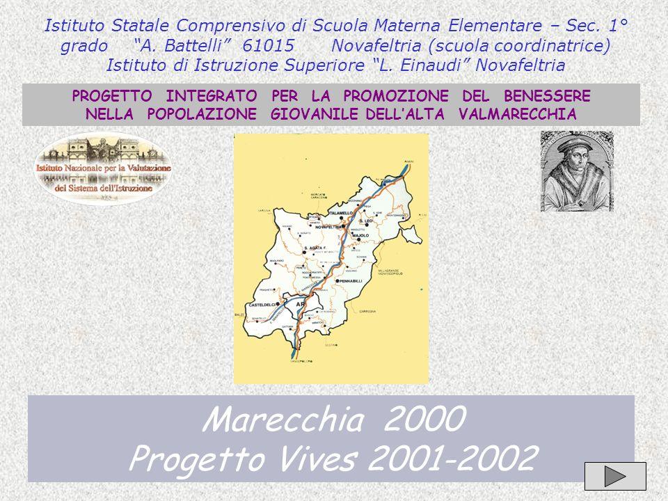 Marecchia 2000 Progetto Vives 2001-2002