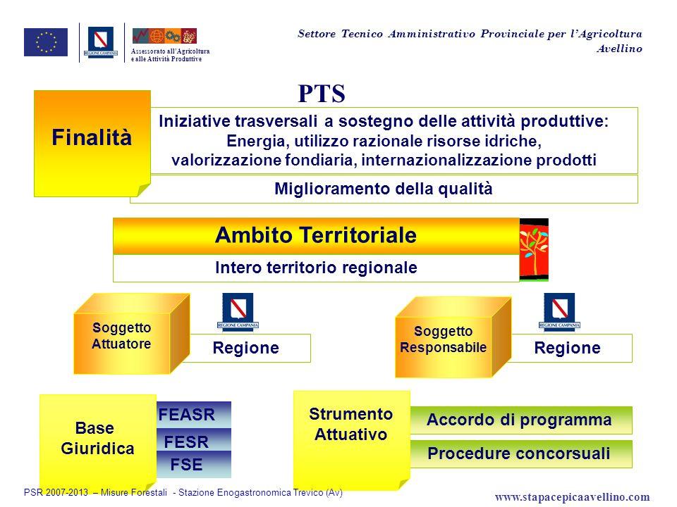 PTS Finalità Ambito Territoriale