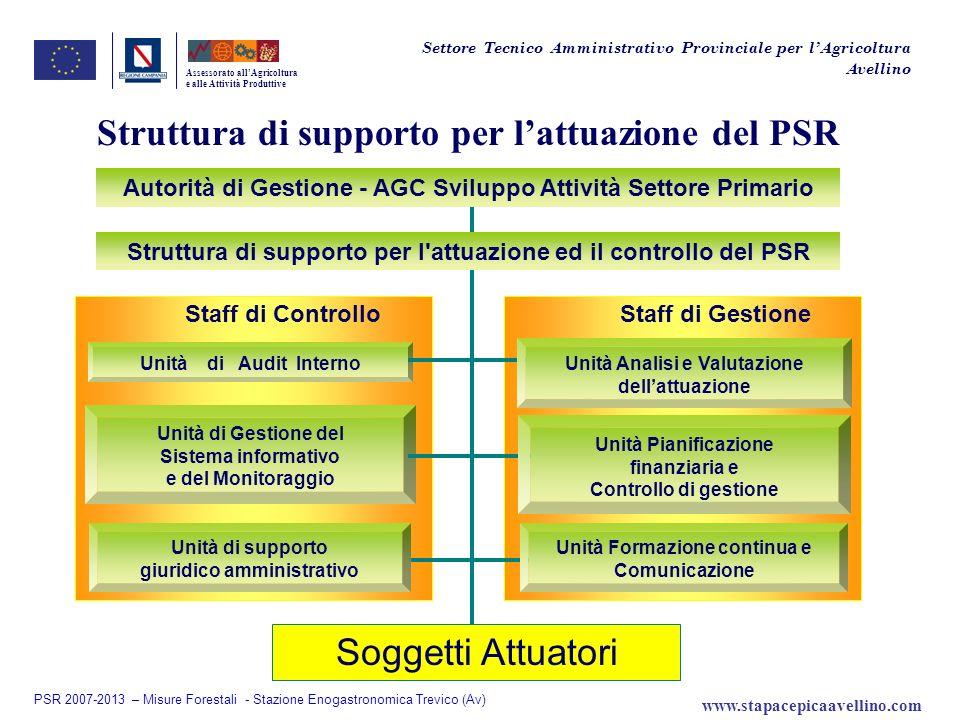 Struttura di supporto per l'attuazione del PSR