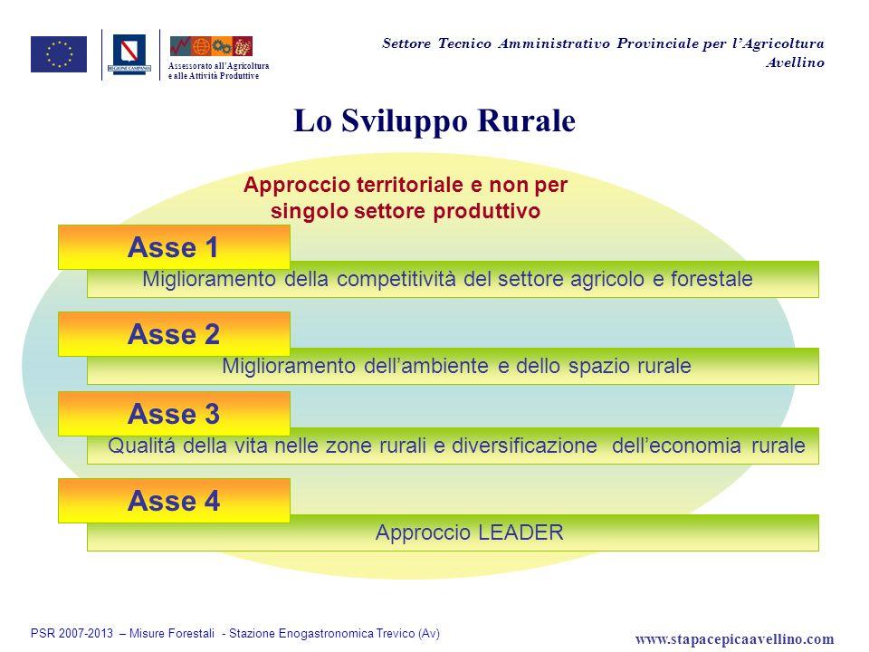 Approccio territoriale e non per singolo settore produttivo