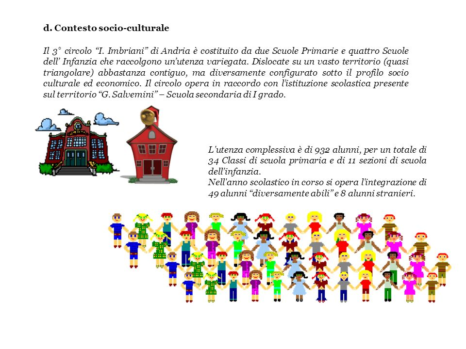 d. Contesto socio-culturale