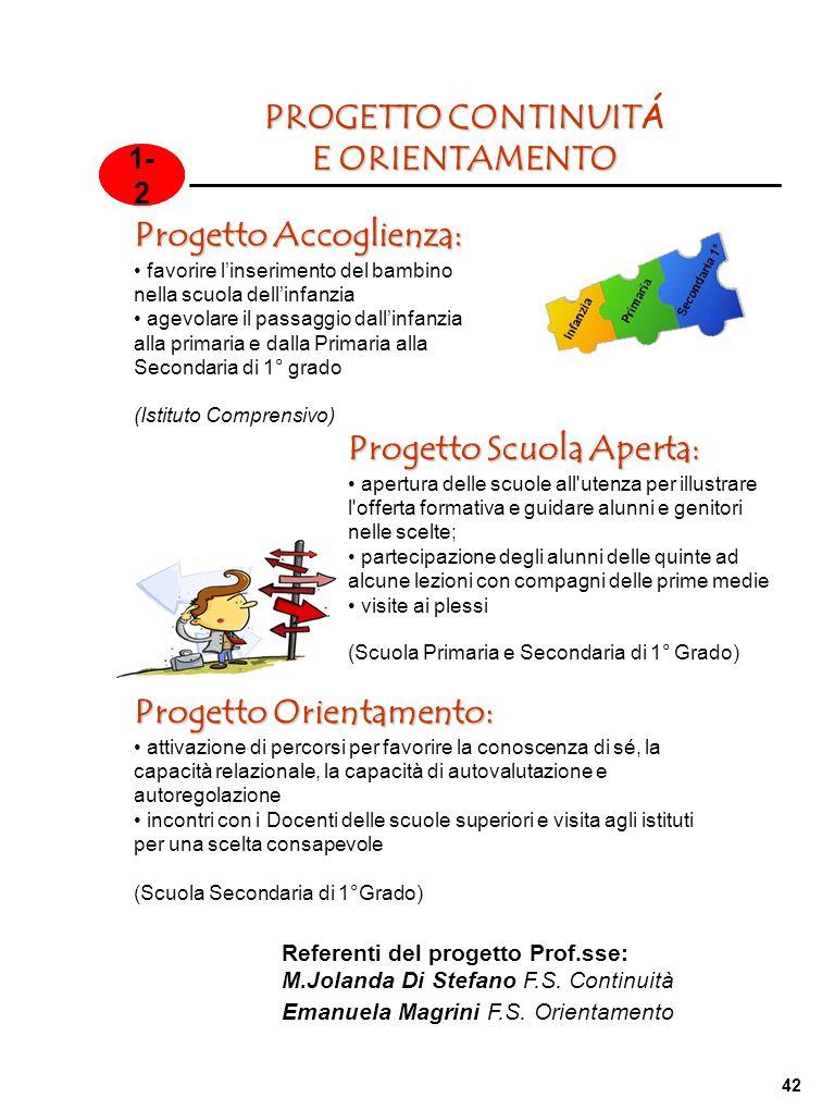 Progetto Accoglienza: