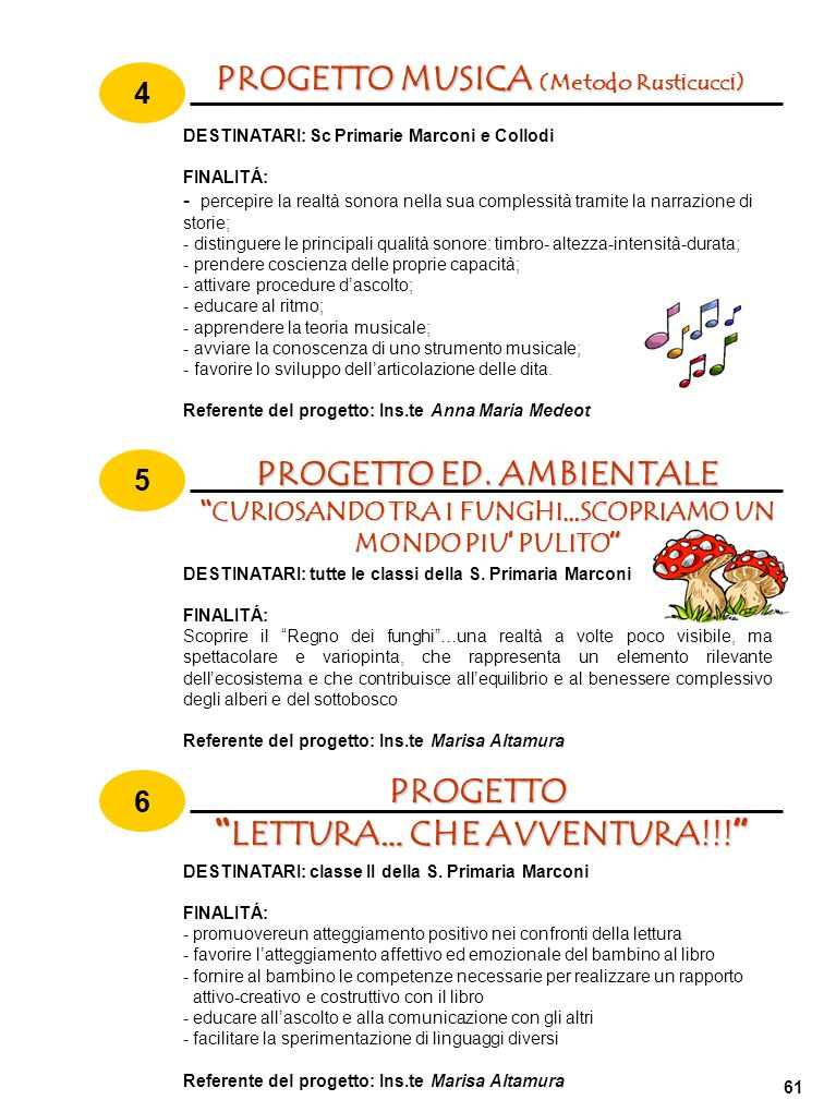 PROGETTO ED. AMBIENTALE