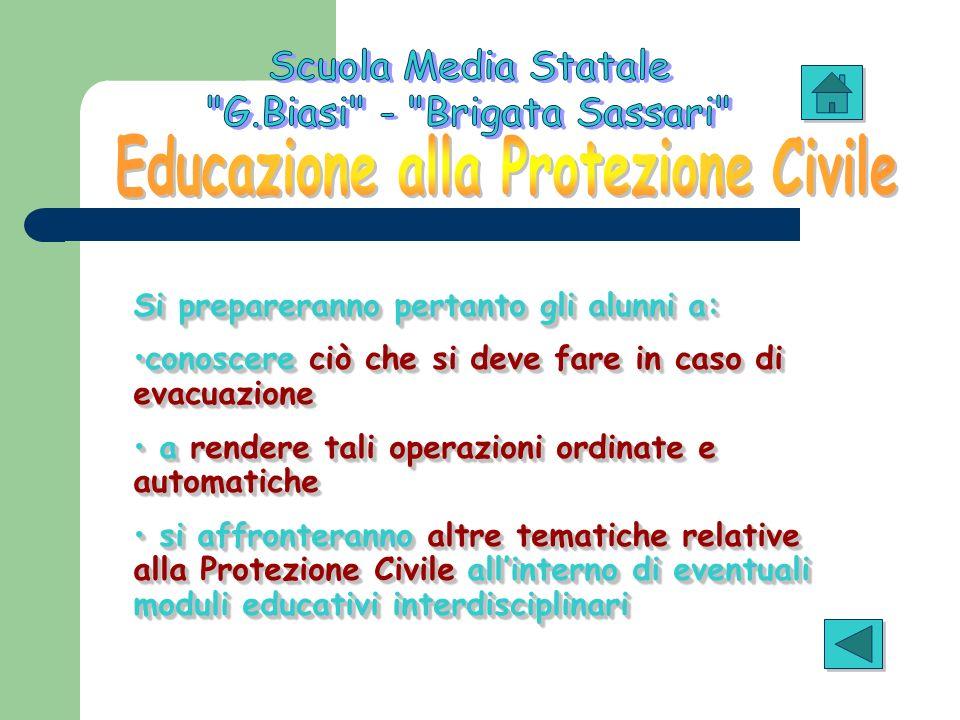 Educazione alla Protezione Civile