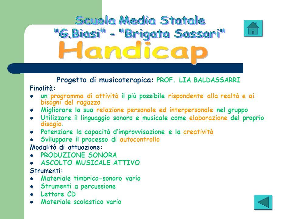 Scuola Media Statale G.Biasi - Brigata Sassari Handicap