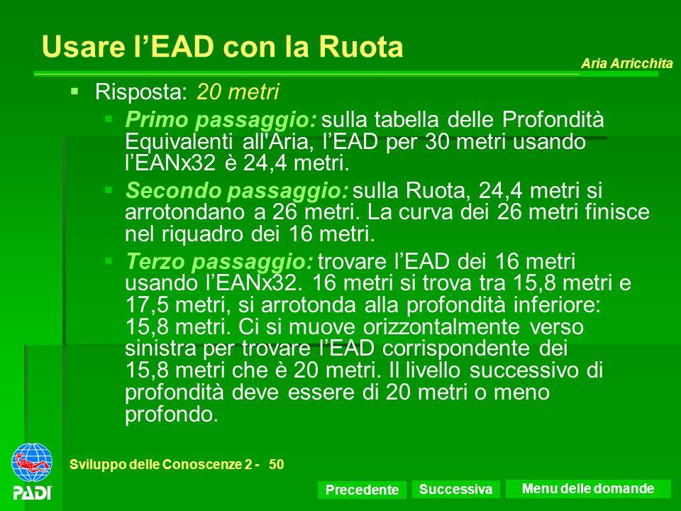 Usare l'EAD con la Ruota