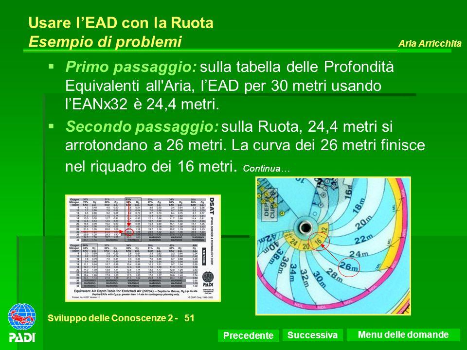 Usare l'EAD con la Ruota Esempio di problemi