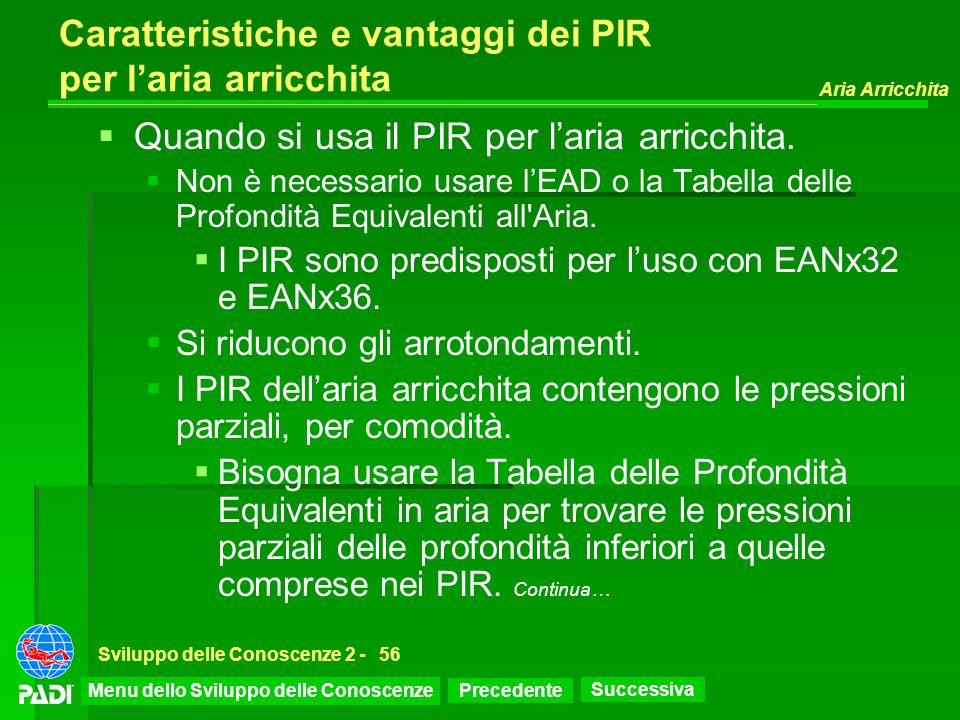 Caratteristiche e vantaggi dei PIR per l'aria arricchita