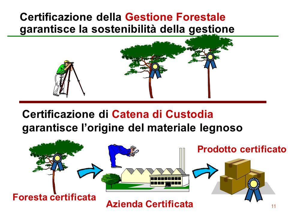 Certificazione della Gestione Forestale