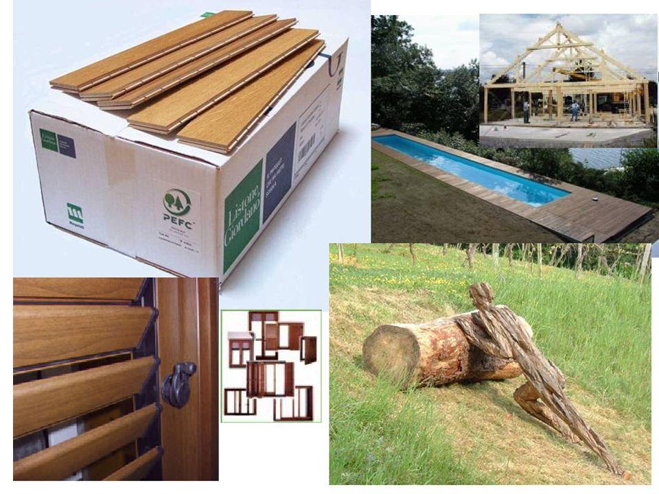 Vari prodotti certificati: strutture delle case, edilizia esterna, parquet, legno nell'arte, infissi per porte e finestre …
