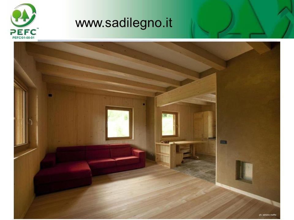 www.sadilegno.it Una casa interamente di legno certificato PEFC 35