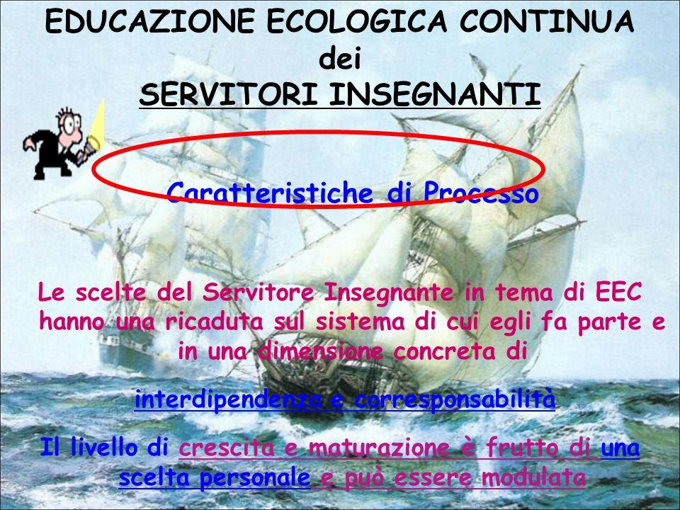 EDUCAZIONE ECOLOGICA CONTINUA dei SERVITORI INSEGNANTI