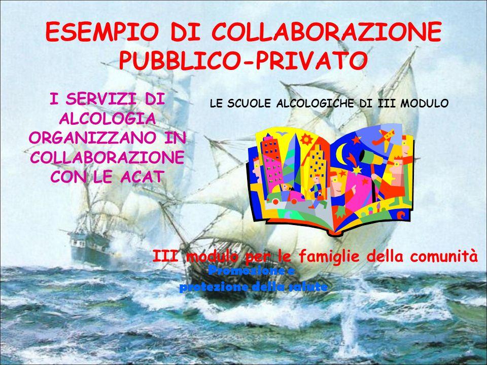 ESEMPIO DI COLLABORAZIONE PUBBLICO-PRIVATO