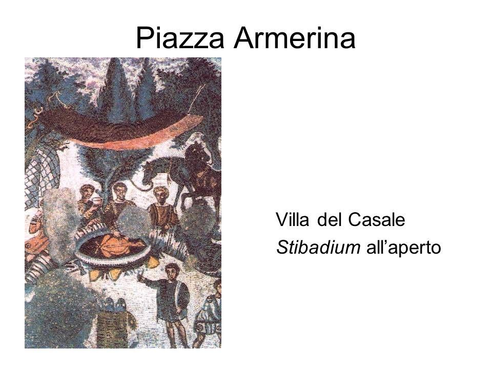Piazza Armerina Villa del Casale Stibadium all'aperto