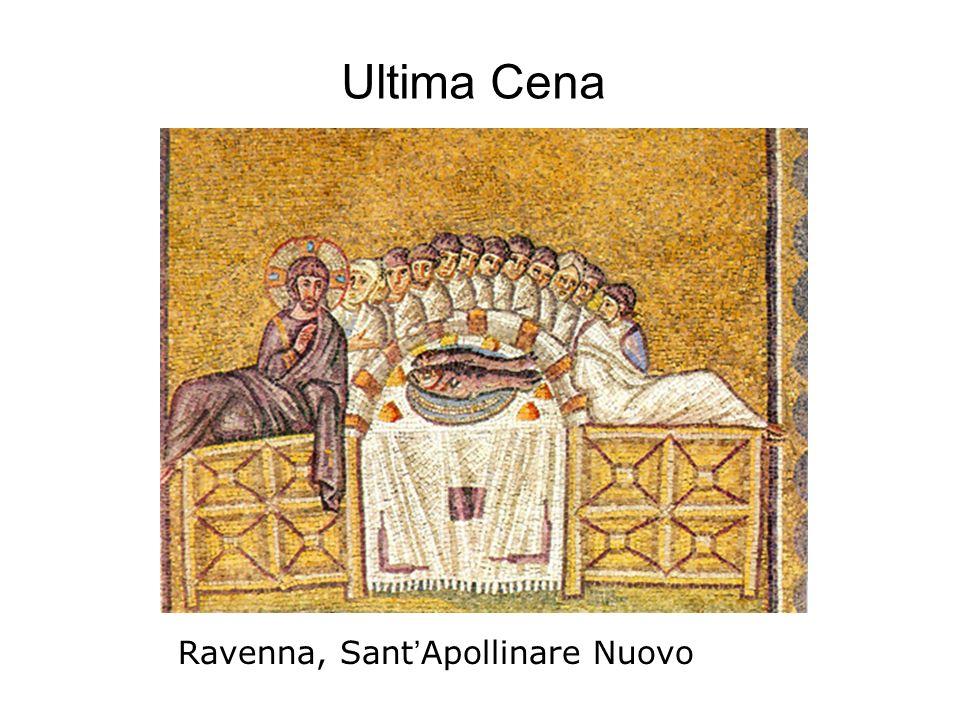 Ultima Cena Ravenna, Sant'Apollinare Nuovo