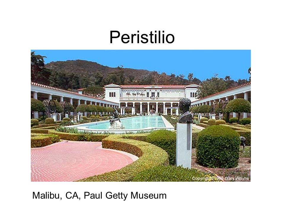 Peristilio Malibu, CA, Paul Getty Museum