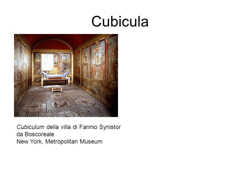 Cubicula Cubiculum della villa di Fannio Synistor da Boscoreale