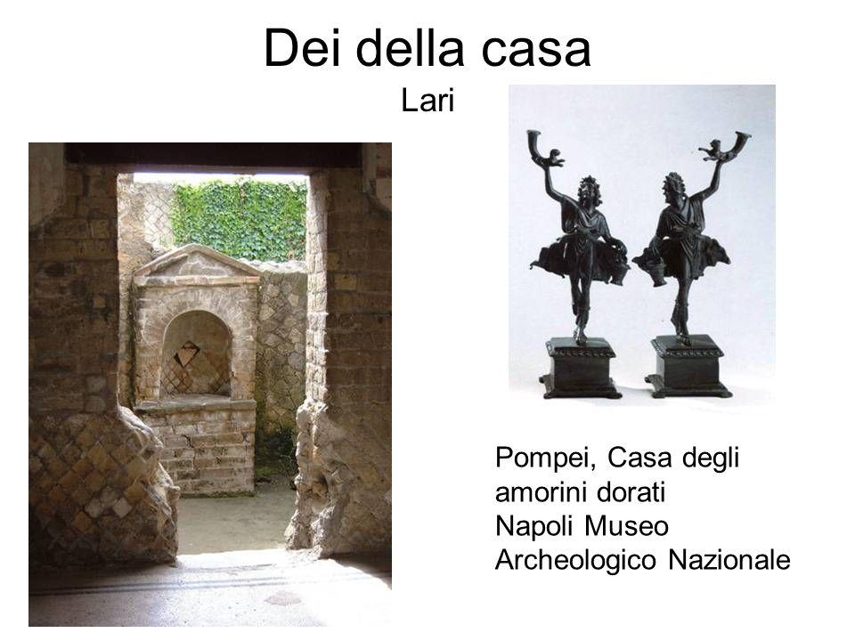 Dei della casa Lari Pompei, Casa degli amorini dorati