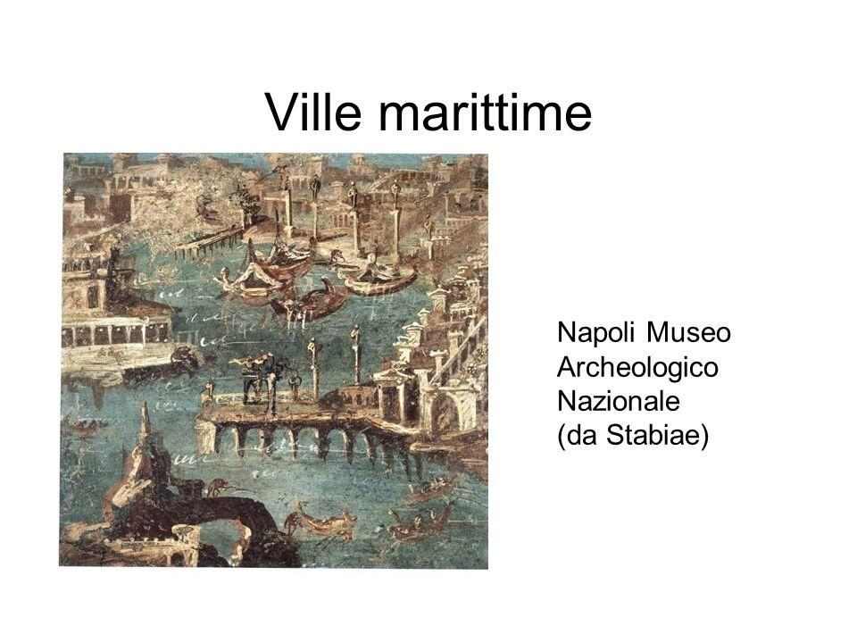 Ville marittime Napoli Museo Archeologico Nazionale (da Stabiae)