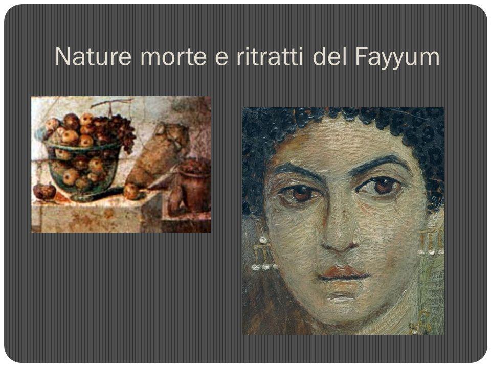 Nature morte e ritratti del Fayyum