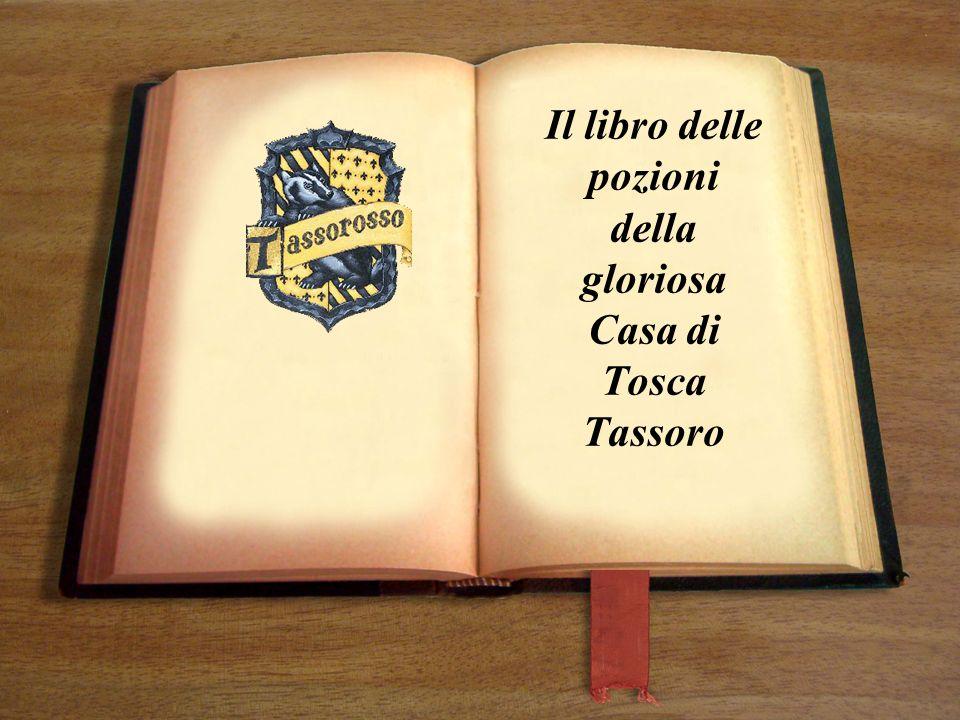 Il libro delle pozioni della gloriosa Casa di Tosca Tassoro