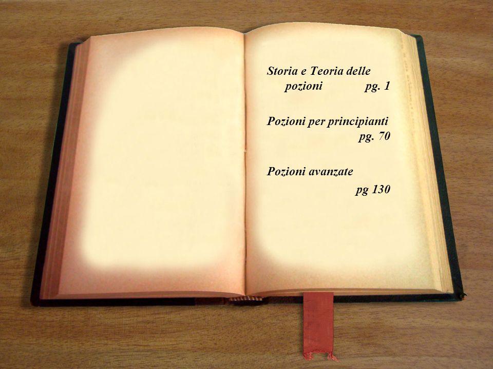 Storia e Teoria delle pozioni pg. 1