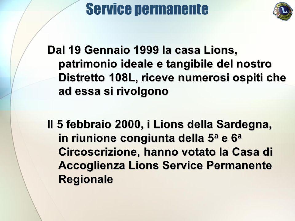 Service permanente