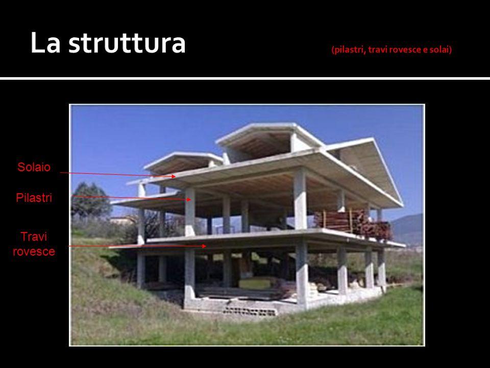 La struttura (pilastri, travi rovesce e solai)