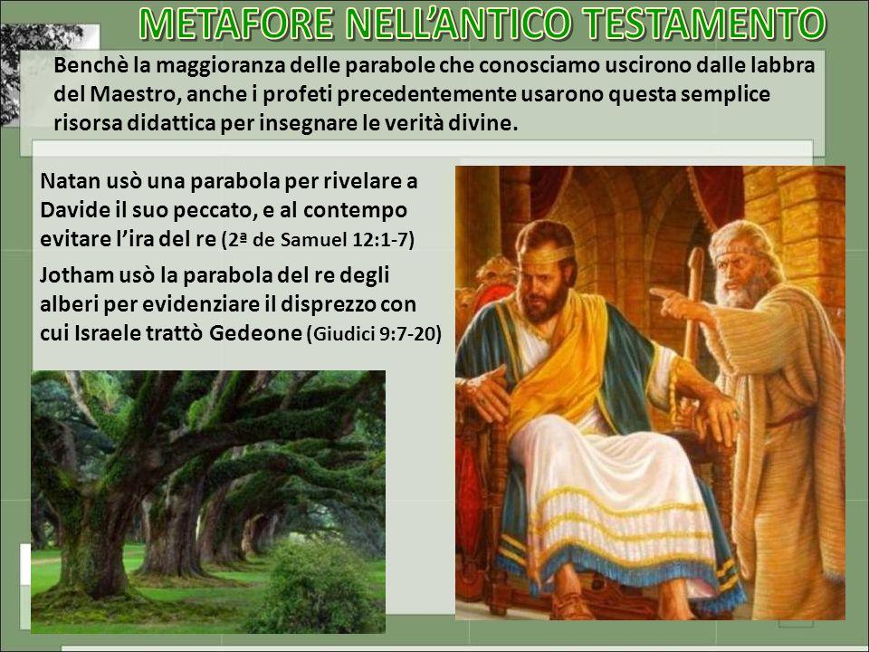 METAFORE NELL'ANTICO TESTAMENTO