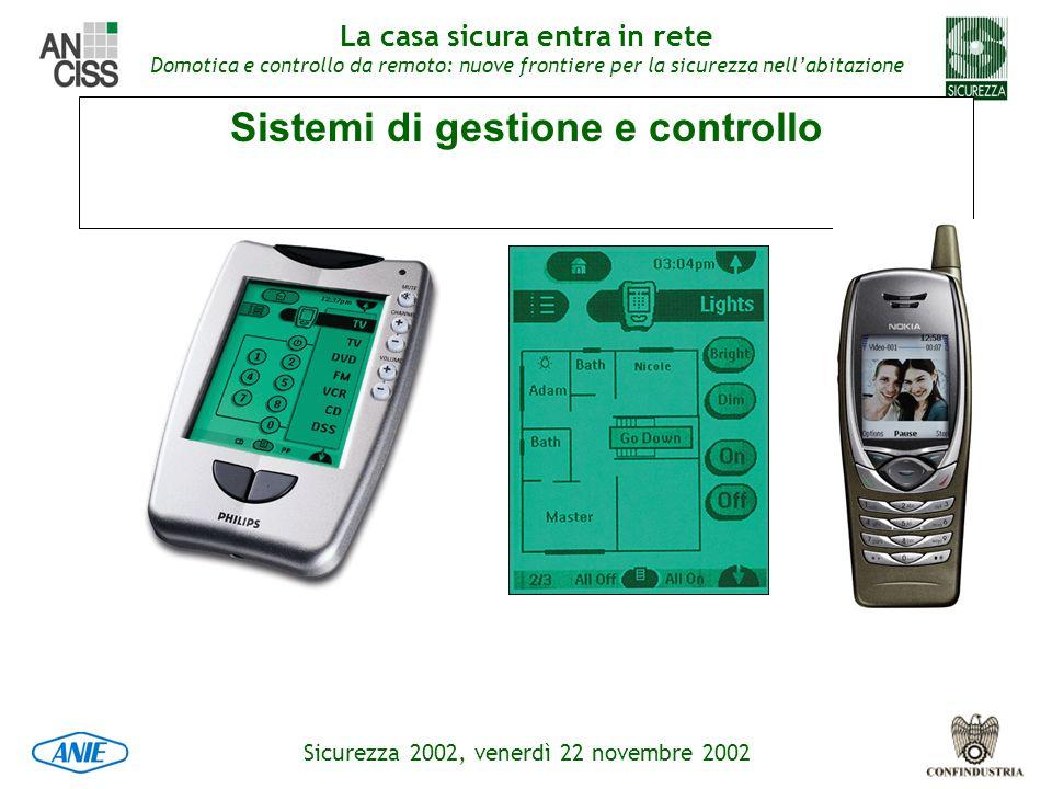 Sistemi di gestione e controllo
