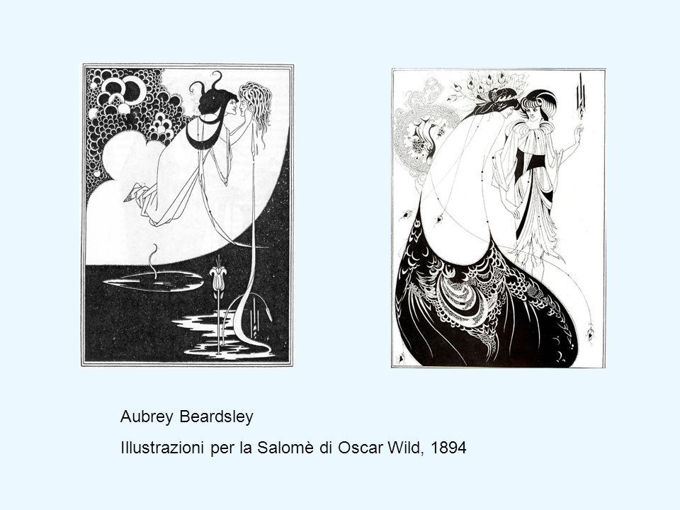 Aubrey Beardsley Illustrazioni per la Salomè di Oscar Wild, 1894