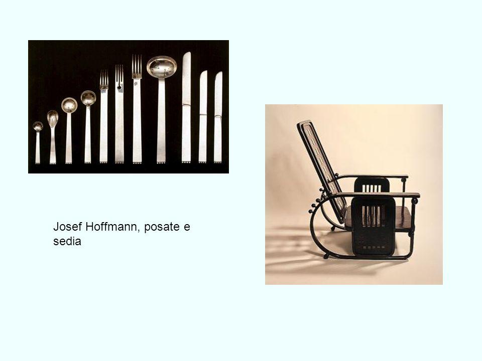 Josef Hoffmann, posate e sedia