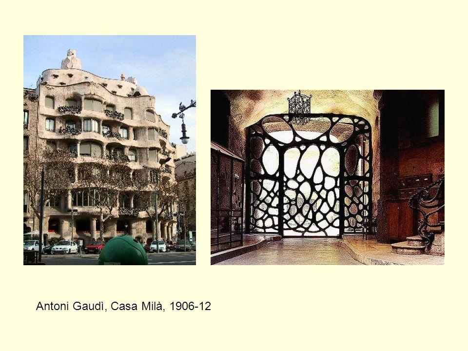 Antoni Gaudì, Casa Milà, 1906-12