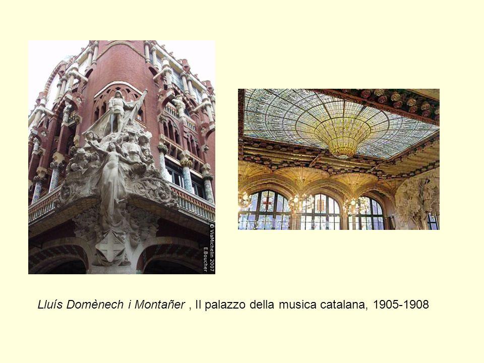 Lluís Domènech i Montañer , Il palazzo della musica catalana, 1905-1908