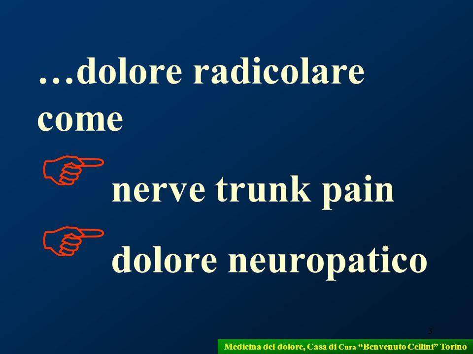 Medicina del dolore, Casa di Cura Benvenuto Cellini Torino