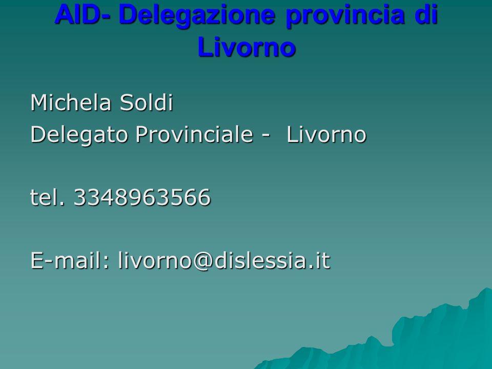 AID- Delegazione provincia di Livorno