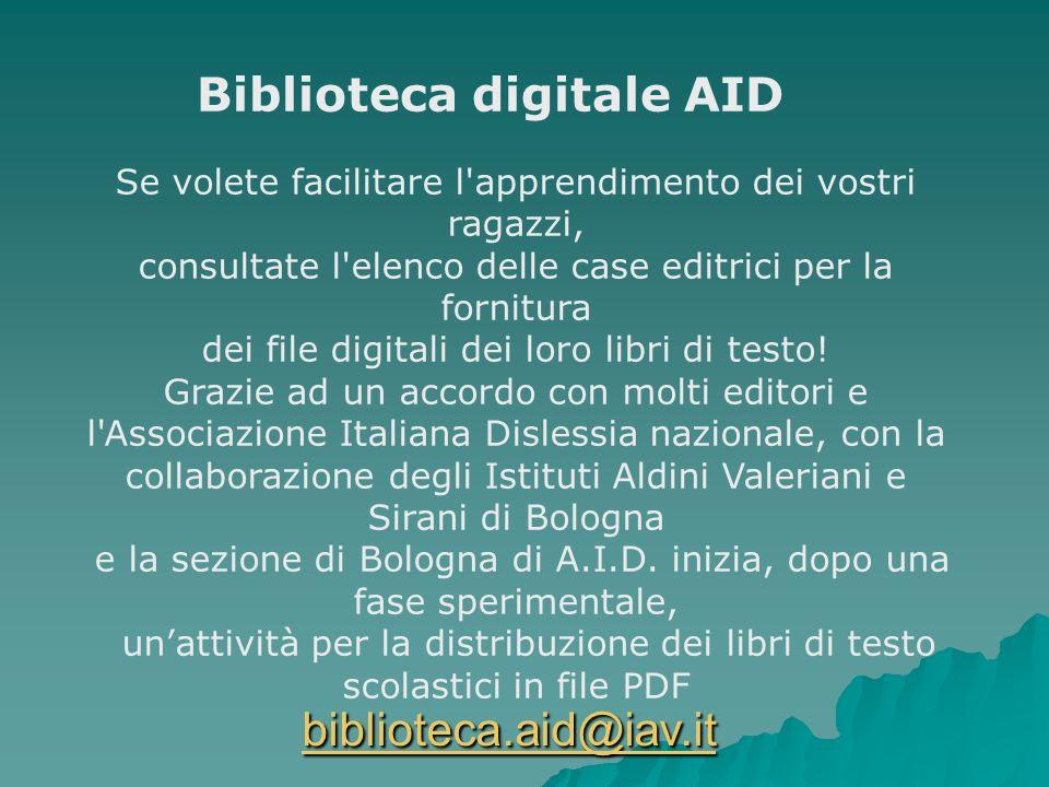Biblioteca digitale AID