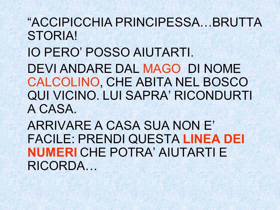ACCIPICCHIA PRINCIPESSA…BRUTTA STORIA!