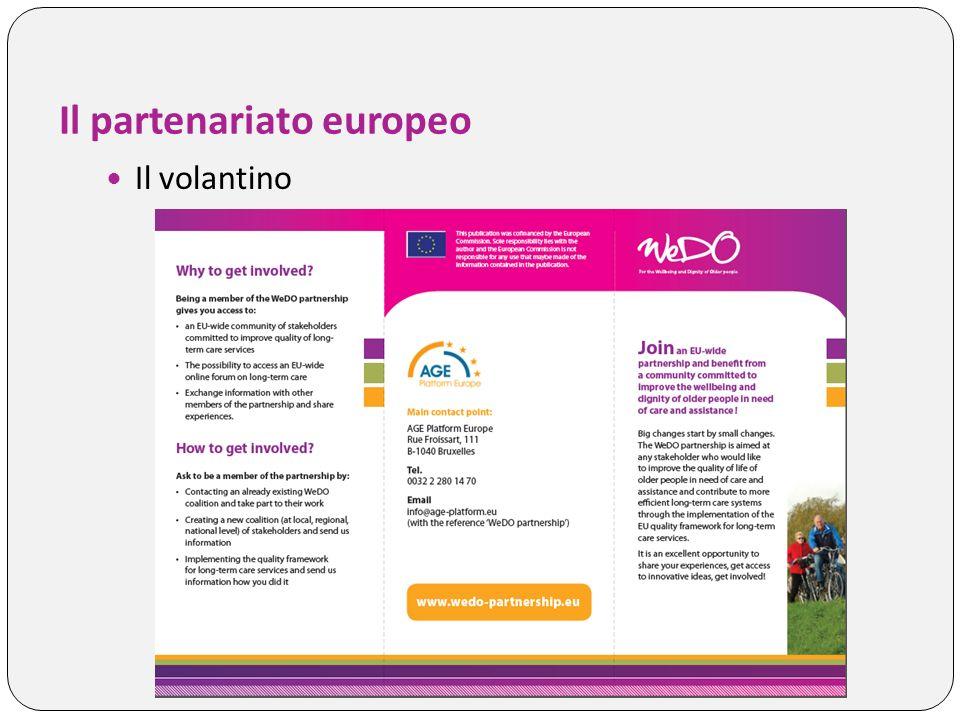 Il partenariato europeo