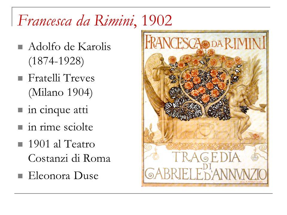 Francesca da Rimini, 1902 Adolfo de Karolis (1874-1928)
