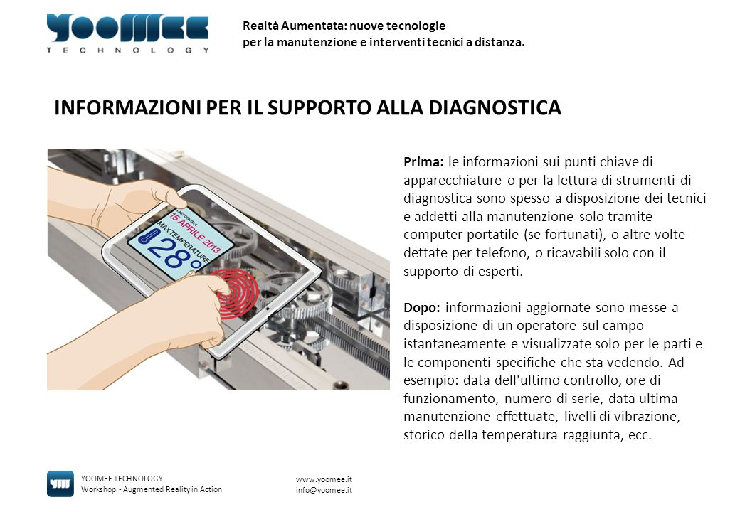 INFORMAZIONI PER IL SUPPORTO ALLA DIAGNOSTICA
