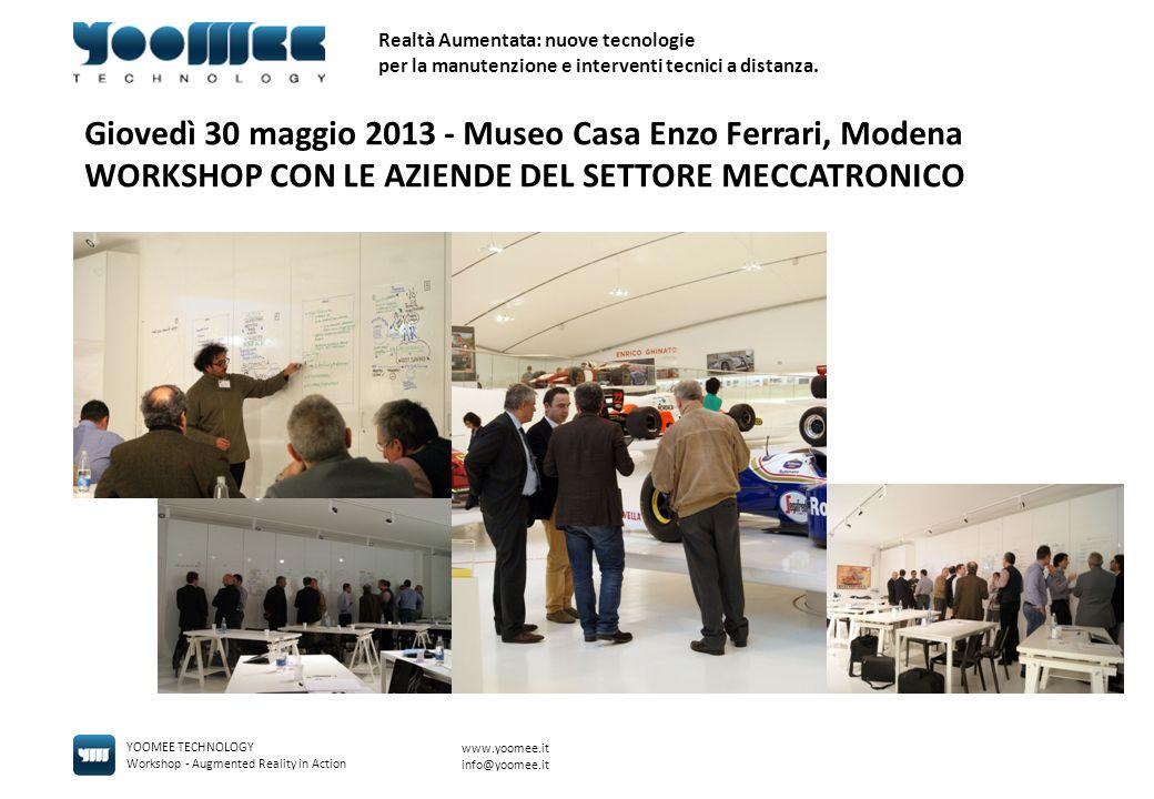 Giovedì 30 maggio 2013 - Museo Casa Enzo Ferrari, Modena